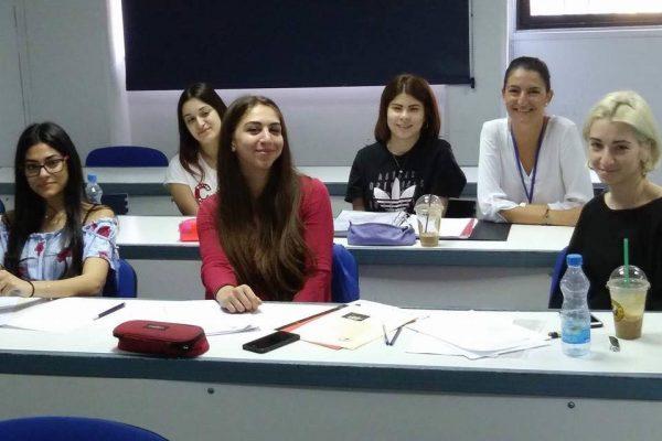 Ενημερωτική διάλεξη για τα προγράμματα του ΣΠΑΒΟ, σε φοιτητές Κοινωνικής Εργασίας στο Πανεπιστήμιο Fre 2